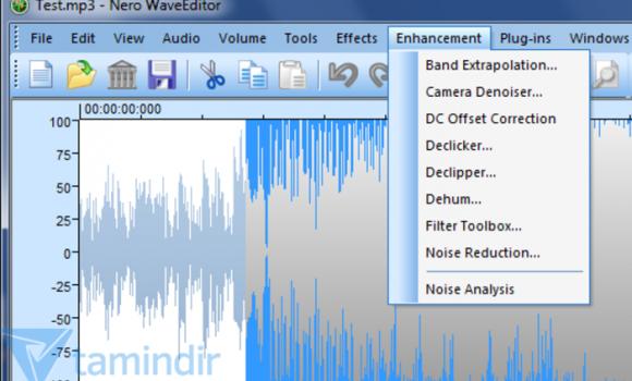 Nero WaveEditor Ekran Görüntüleri - 1