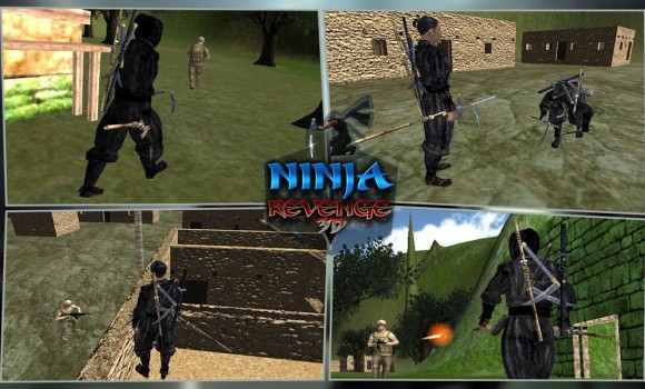 Ninja Warrior Assassin 3D Ekran Görüntüleri - 1