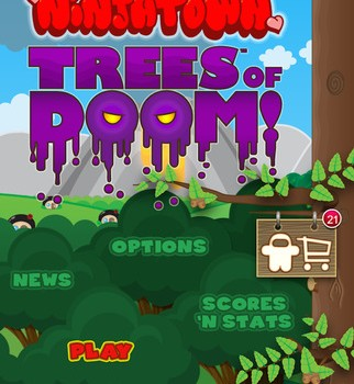 Ninjatown: Trees Of Doom! Ekran Görüntüleri - 5