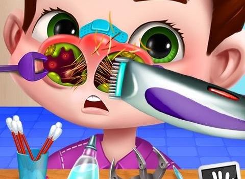 Nose Doctor X: Booger Mania Ekran Görüntüleri - 2