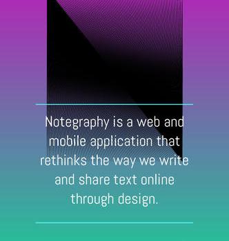 Notegraphy Ekran Görüntüleri - 1
