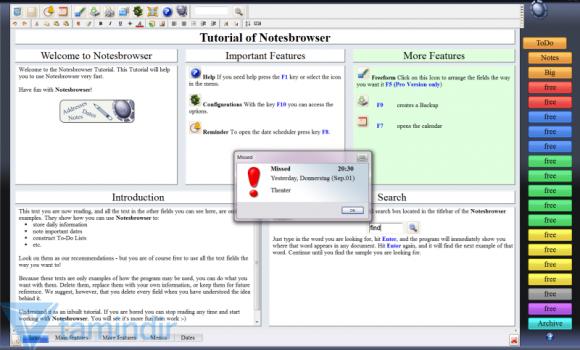 Notesbrowser Ekran Görüntüleri - 3