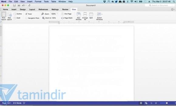 Office for Mac Ekran Görüntüleri - 1