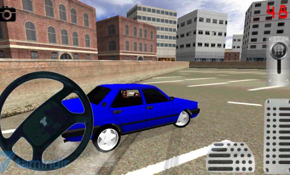 Old Car Drift Park Simulator Ekran Görüntüleri - 3