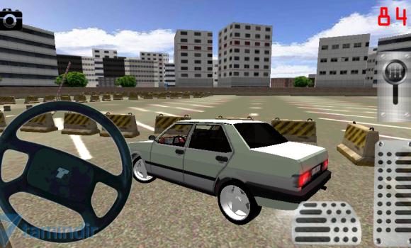 Old Car Drift Park Simulator Ekran Görüntüleri - 4