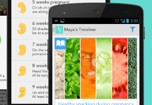 Ovia Pregnancy Guide Ekran Görüntüleri - 2