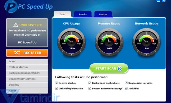 PC Speed Up Ekran Görüntüleri - 1