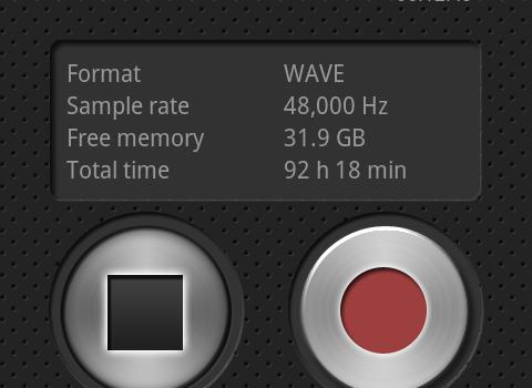 PCM Recorder Ekran Görüntüleri - 3