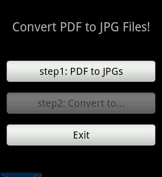 PDF2JPG Ekran Görüntüleri - 1