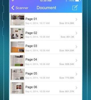 Pocket Scanner  Ekran Görüntüleri - 2