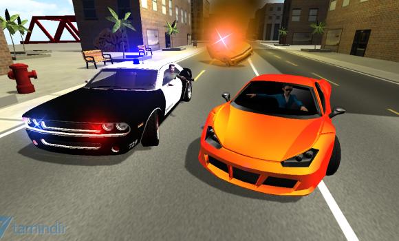 Police Car Chase 3D Ekran Görüntüleri - 3