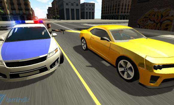 Police Car Chase 3D Ekran Görüntüleri - 1