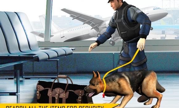 Police Dog Airport Crime City Ekran Görüntüleri - 4