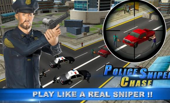 Police Sniper Chase 3D Ekran Görüntüleri - 4