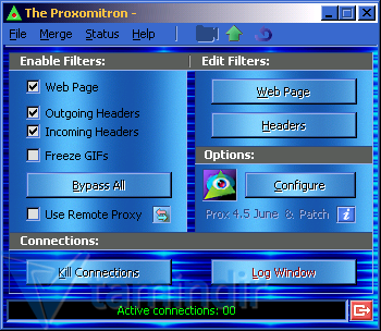 Proxomitron Ekran Görüntüleri - 1