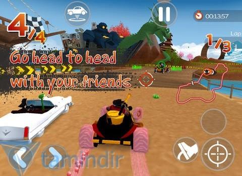 Racers Islands Ekran Görüntüleri - 1