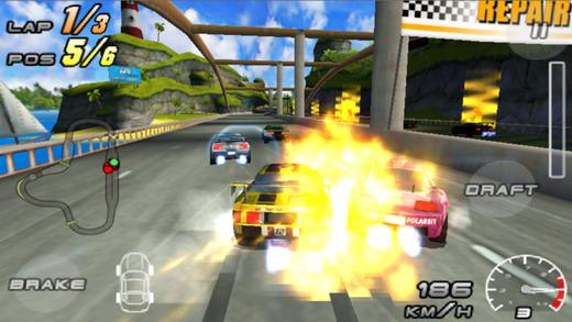 Raging Thunder 2 Ekran Görüntüleri - 1