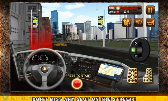 Real Garbage Truck Simulator Ekran Görüntüleri - 3