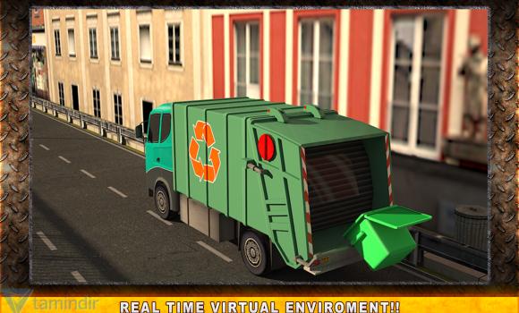 Real Garbage Truck Simulator Ekran Görüntüleri - 1