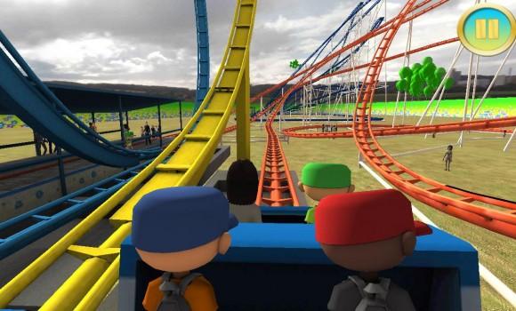 real roller coaster simulator ndir android i in roller. Black Bedroom Furniture Sets. Home Design Ideas
