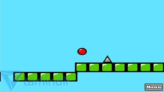 Red Bouncing Ball Spikes Free Ekran Görüntüleri - 3
