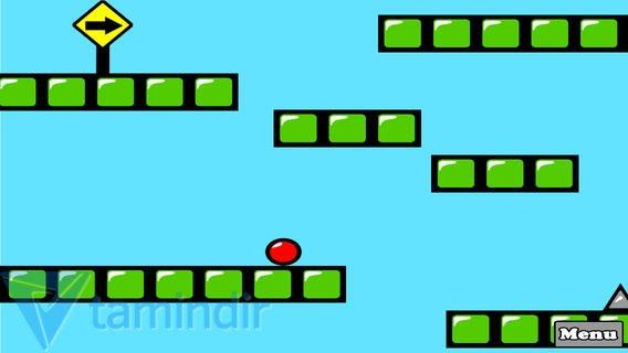 Red Bouncing Ball Spikes Free Ekran Görüntüleri - 2