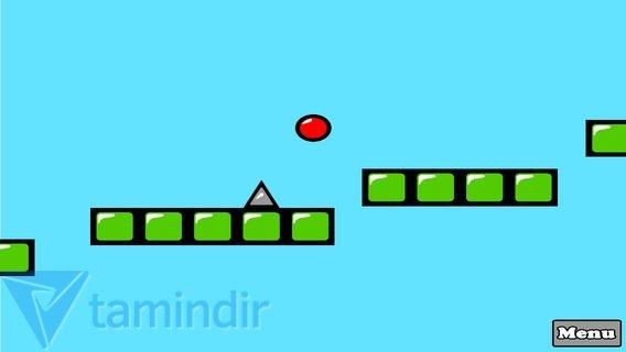 Red Bouncing Ball Spikes Free Ekran Görüntüleri - 1