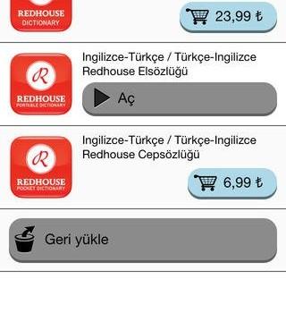 Redhouse Sözlük Ekran Görüntüleri - 3