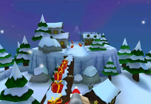 Running With Santa: Xmas Run Ekran Görüntüleri - 1