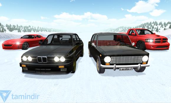 Russian Winter Traffic Racer Ekran Görüntüleri - 1
