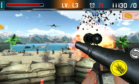 Shoot War: Gun Fire Defense Ekran Görüntüleri - 3