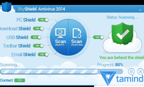 SkyShield Antivirus 2014 Ekran Görüntüleri - 1