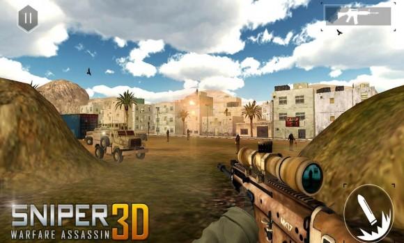 Sniper Warfare Assassin 3D Ekran Görüntüleri - 2