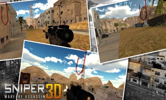 Sniper Warfare Assassin 3D Ekran Görüntüleri - 1