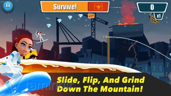 Snowfall: Secret Agent Run Ekran Görüntüleri - 1