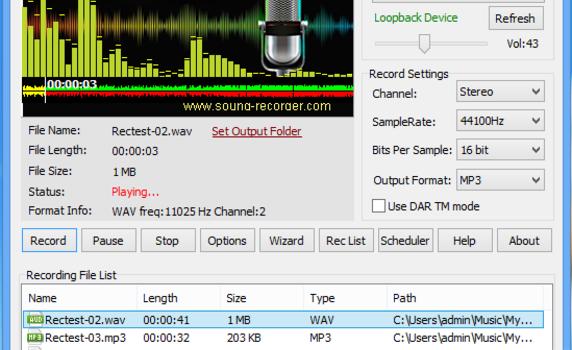 Sound Recorder Professional Ekran Görüntüleri - 2