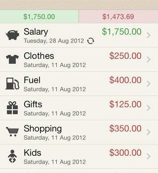 Spending Tracker Ekran Görüntüleri - 1