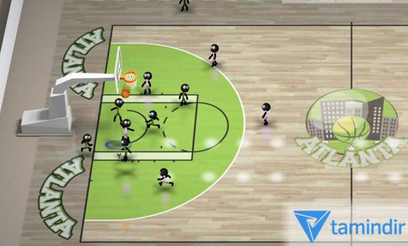 Stickman Basketball Ekran Görüntüleri - 2