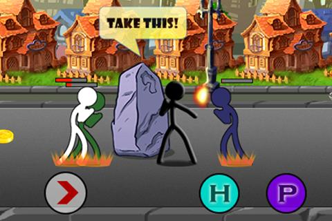 Street Stick Battle Ekran Görüntüleri - 3
