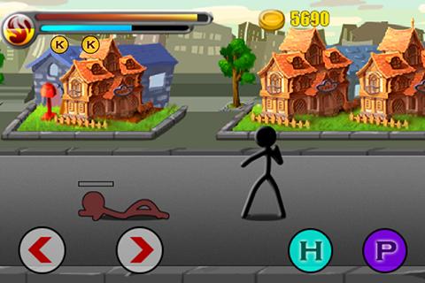 Street Stick Battle Ekran Görüntüleri - 1