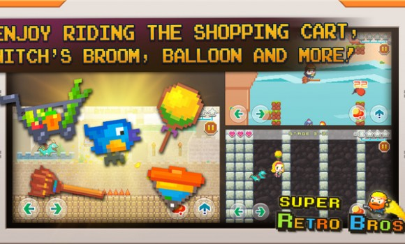 Super Retro Bros. Ekran Görüntüleri - 1