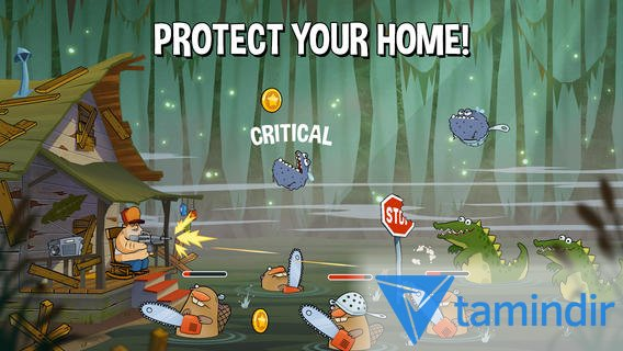 Swamp Attack Ekran Görüntüleri - 2
