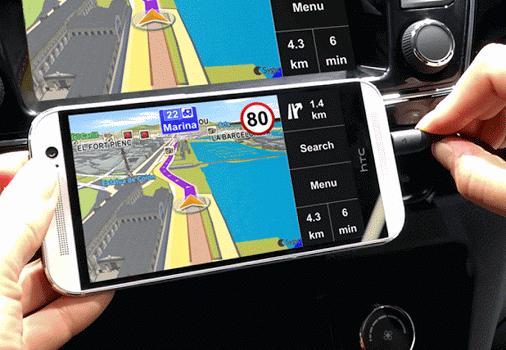 Sygic MirrorLink Navigation Ekran Görüntüleri - 3