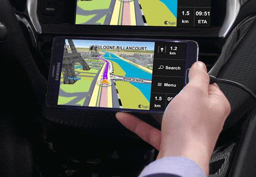 Sygic MirrorLink Navigation Ekran Görüntüleri - 1