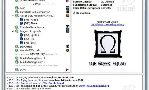 TeamSpeak Client Ekran Görüntüleri - 4