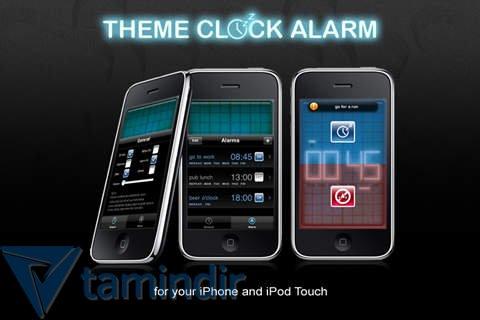 Theme Clock Alarm Ekran Görüntüleri - 2