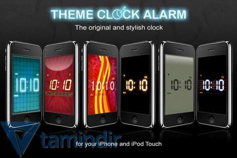 Theme Clock Alarm Ekran Görüntüleri - 1
