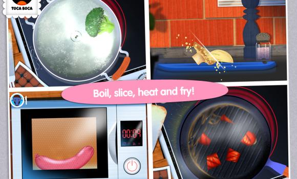 Toca Kitchen Ekran Görüntüleri - 2