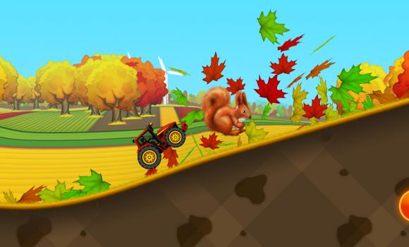 Tractor Hill Racing For Kids Ekran Görüntüleri - 3