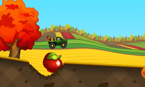 Tractor Hill Racing For Kids Ekran Görüntüleri - 1